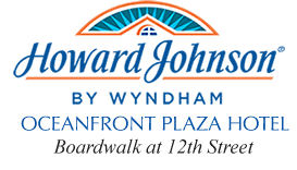 Howard Johnson Ocean Front Plaza Hotel logo